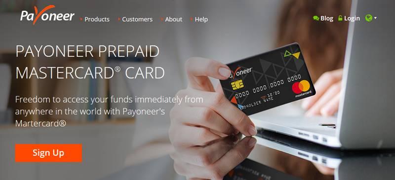 Carte de paiement proposée